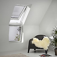 Verrière d'angle à souflet Velux VFE Tout confort bois UK31 2057 60 x h.134 cm