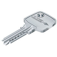 Verrou double cylindre clés réversibles Abus ø 23 mm / 45 mm