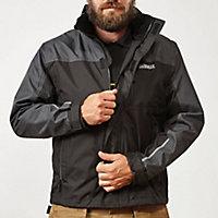 Veste imperméable noire Dewalt taille M
