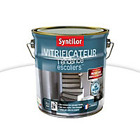 Vitrificateur escalier Syntilor Blanc satin 2L