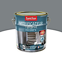Vitrificateur escalier Syntilor Gris souris satin 2L