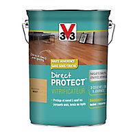 Vitrificateur parquet et plancher V33 Direct protect incolore mat 5L
