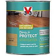 Vitrificateur parquet et plancher V33 Direct protect incolore satin 0,75L