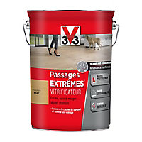 Vitrificateur parquet et plancher V33 Passage extrêmes incolore mat 5L