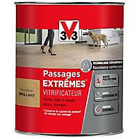 Vitrificateur parquet et plancher V33 Passages extrêmes incolore brillant 0,75L