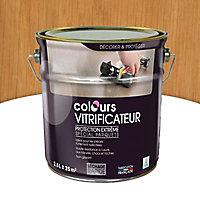 Vitrificateur parquet Passage intense Colours Chêne mat 2,5L