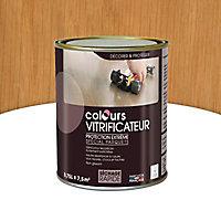 Vitrificateur parquet Passage intense Colours Chêne mat 750ml