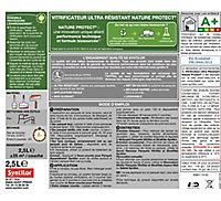 Vitrificateur Syntilor ultra résistant biosourcé Nature Protect incolore satiné 2,5L