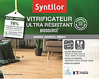 Vitrificateur Syntilor ultra résistant biosourcé Nature Protect incolore satiné 5L