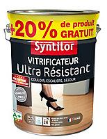 Vitrificateur ultra résistant 5L + 20% incolore satiné