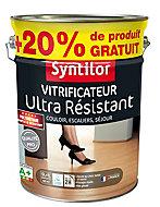 Vitrificateur ultra résistant incolore satiné Syntilor 5L + 20% gratuit