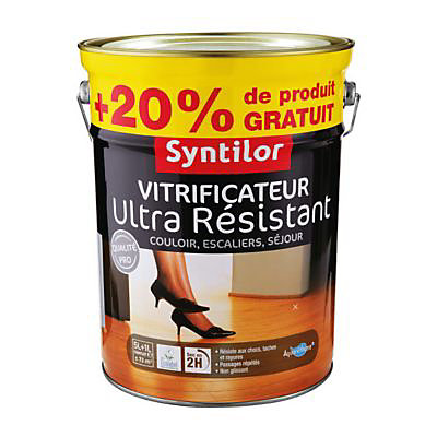 Vitrificateur Ultra Resistant Naturel 5l 20 Castorama