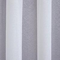 Voilage GoodHome Jima gris 140 x 260 cm