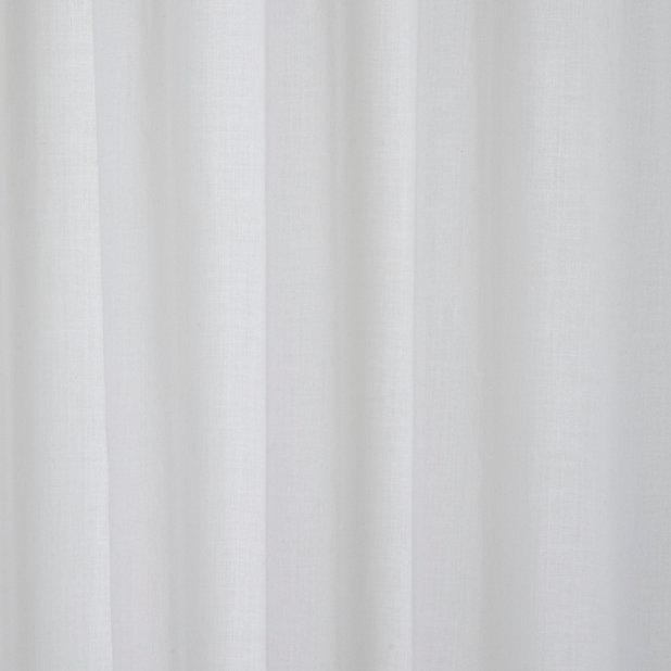 voilage goodhome mayna blanc 200 x 300 cm