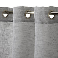 Voilage Howley 260x300 cm Gris GoodHome