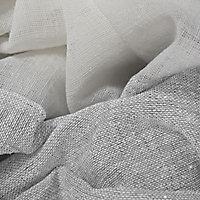 Voilage Paige bicolore gris mat 140 x 240 cm