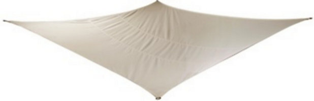 Voile D Ombrage Rectangle Blooma Blanc Bright 360 Cm Castorama