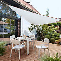 Voile d'ombrage triangle GoodHome peyote 300 cm