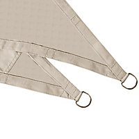 Voile d'ombrage triangle GoodHome peyote 360 cm