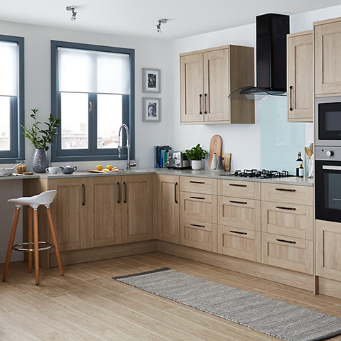 Caisson et tiroir de cuisine