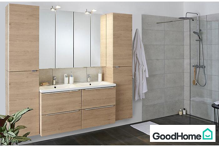 Les meubles de salle de bains Imandra | Castorama