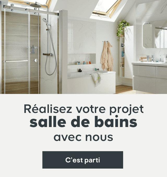 Réalisez votre projet salle de bains avec nous