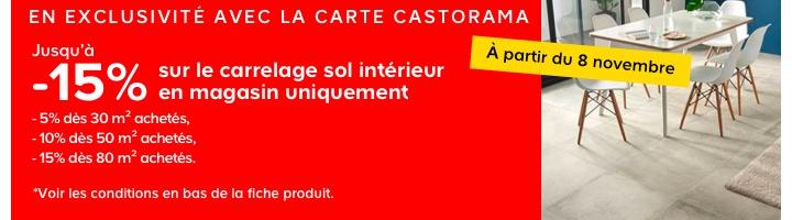 La carte Castorama