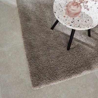 Tapis Cocoon gris 150 x 200 cm